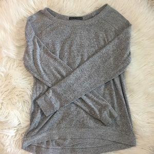Tops - Gray long sleeve top